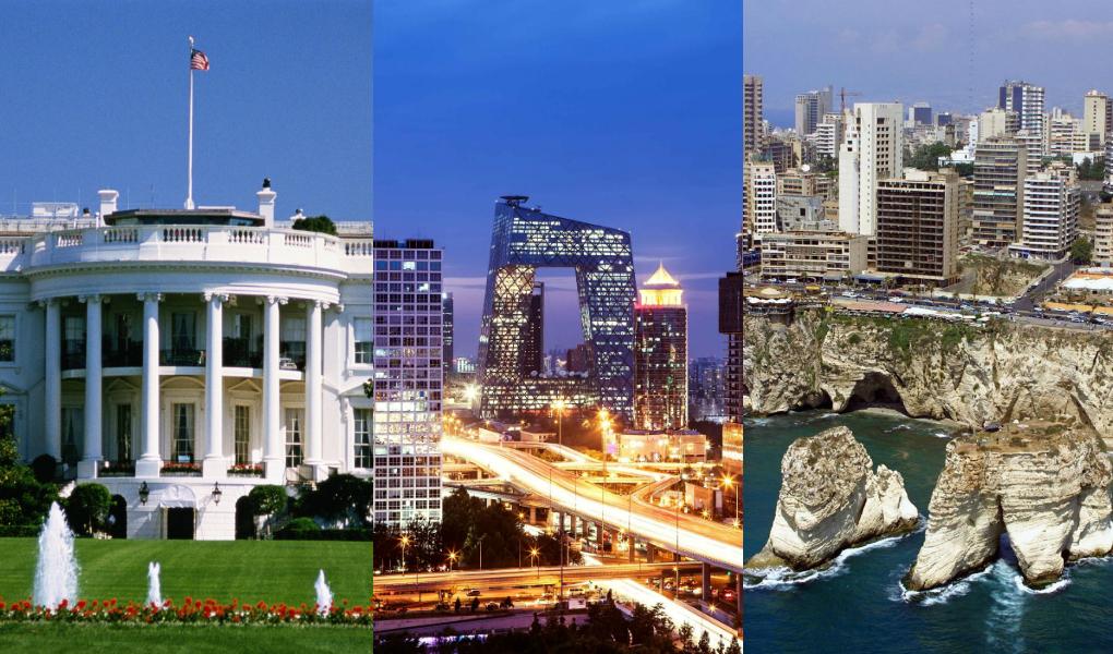 NEW BUREAUS IN WASHINGTON, BEIJING AND BEIRUT