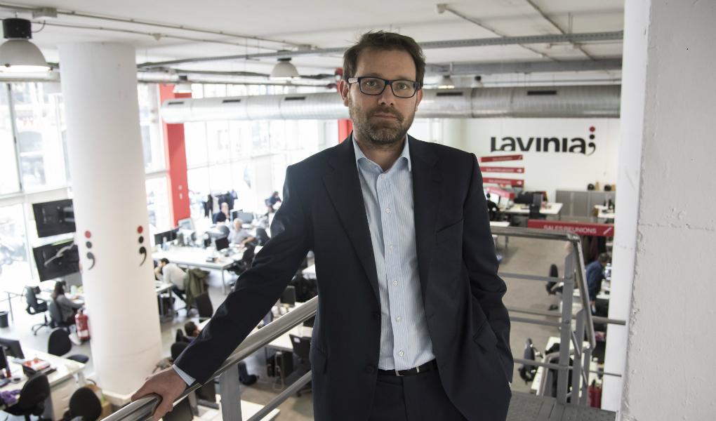 Xavier de Pol, new general director of Audiovisual Services at Lavinia