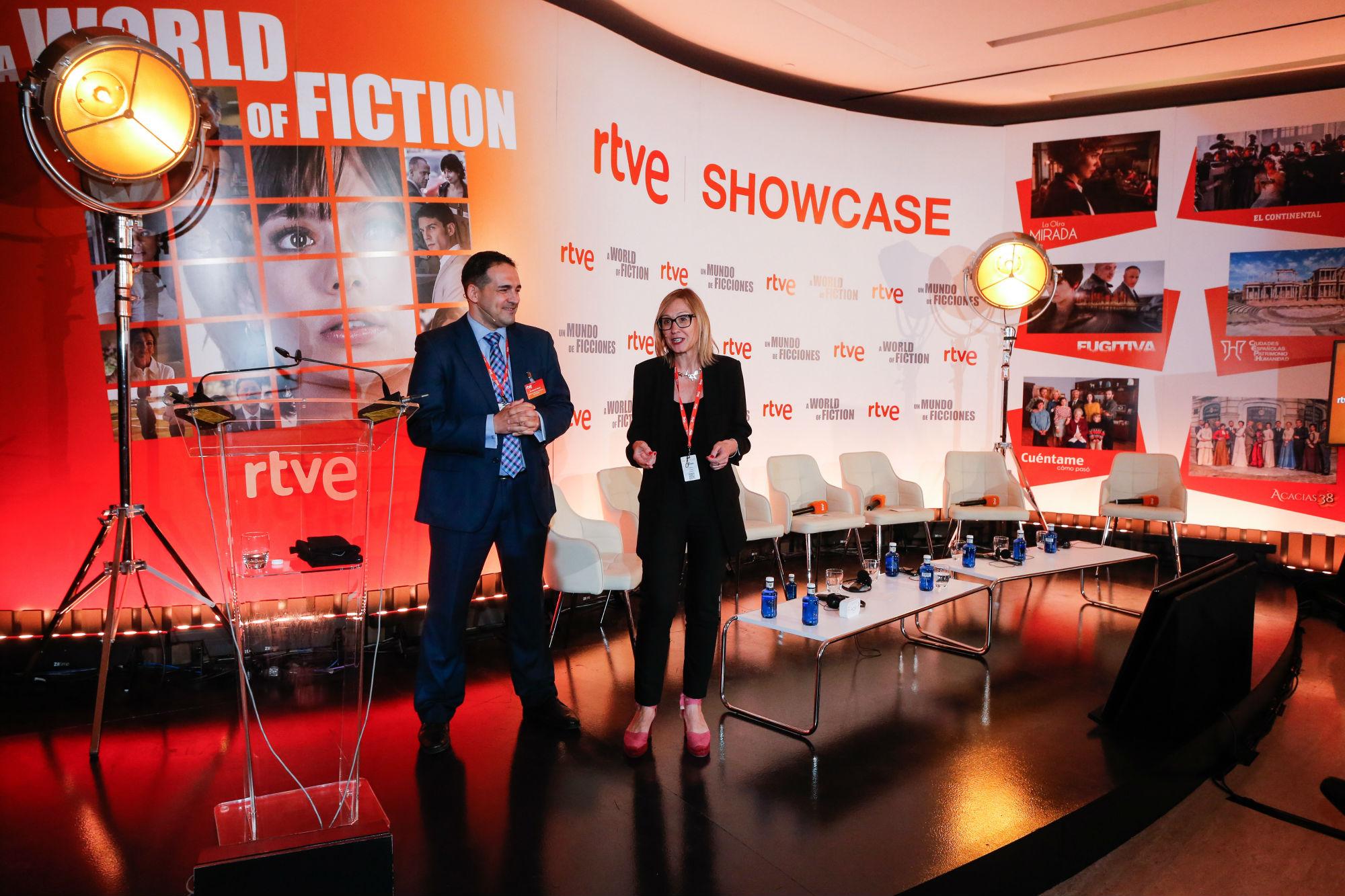 Lavinia participa en el primer showcase de RTVE