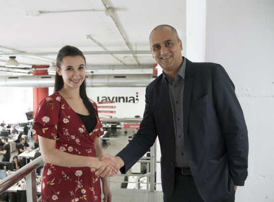 LaviniaNext joins thenetworkone