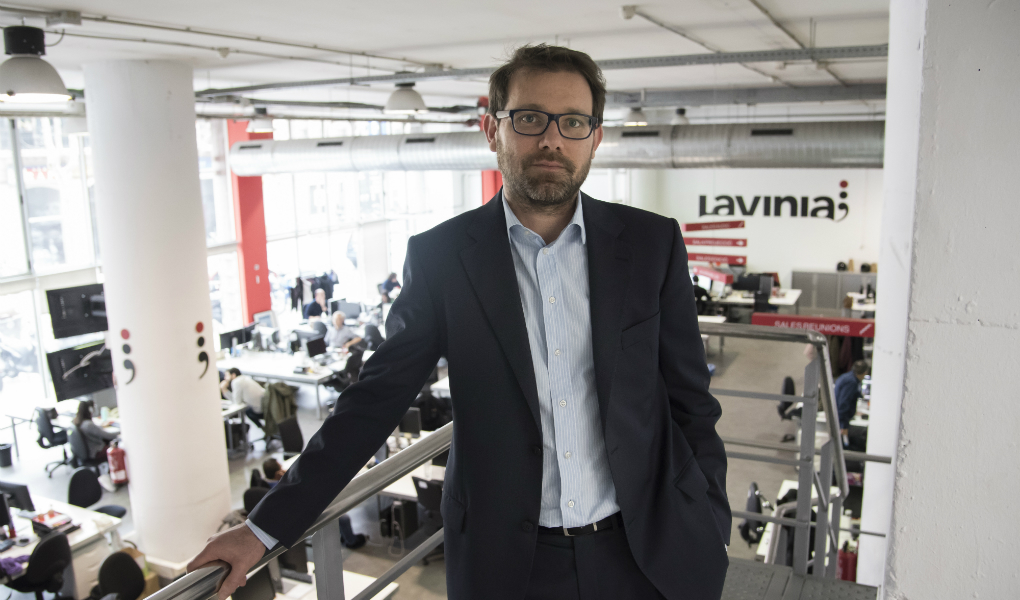 Xavier de Pol, new general director of Audiovisual Services at Lavinia