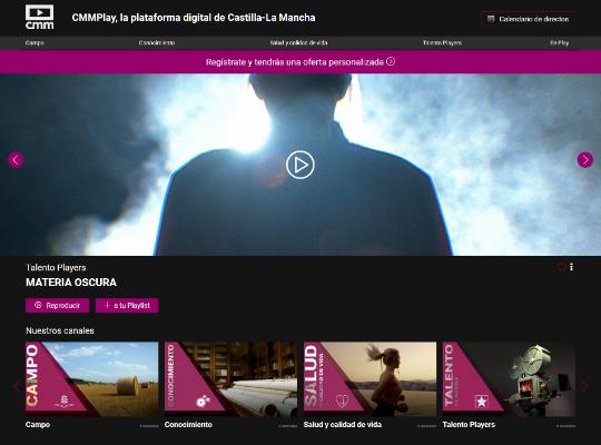 LaviniaNext desenvolupa la plataforma OTT de Castilla-La Mancha Media