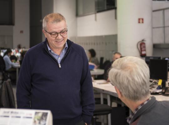Antoni Esteve, Premio Talento 2018 de la Academia de Televisión