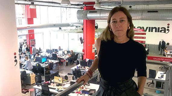 Ana Giménez, nueva directora de Producción de Lavinia Audiovisual