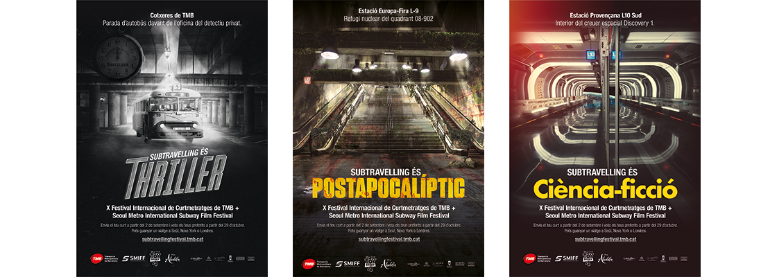 LaviniaNext transforma la red de metro y bus de Barcelona en escenarios de cine
